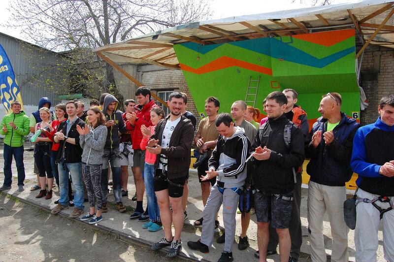 1 этап Кубка Края по скалолазанию 2016