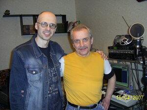 Игорь Постоев и Леша Патраков