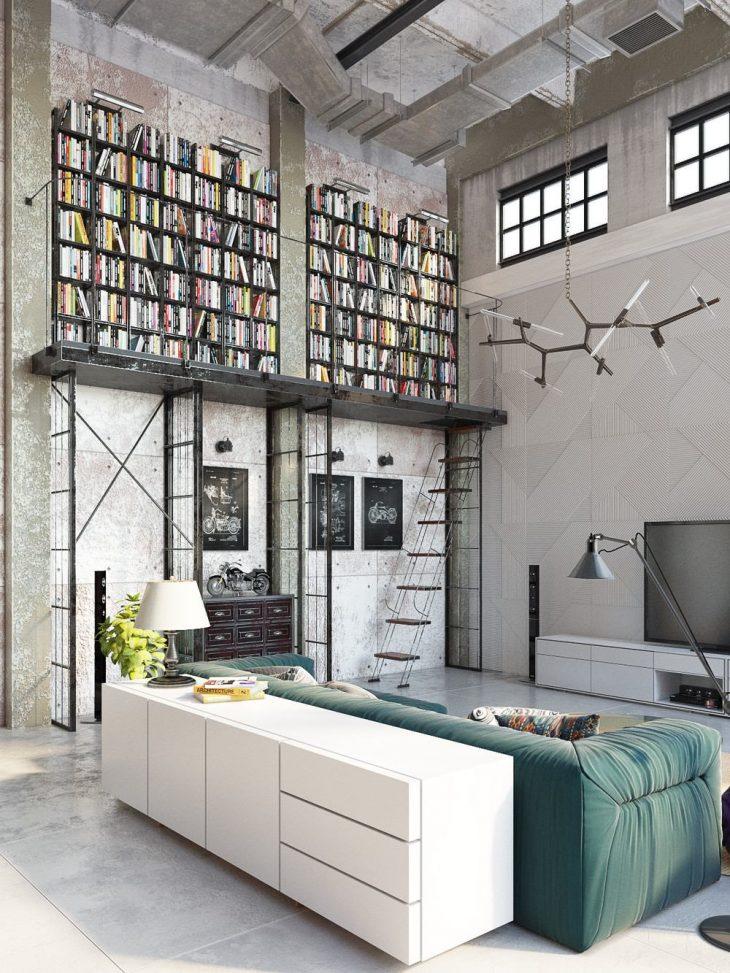 Industrial loft by Golovach Tatiana & Andrey Kot