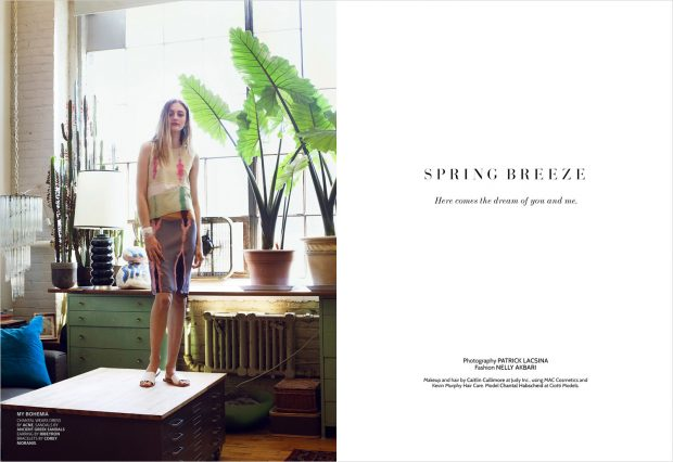 DESIGN SCENE STYLE: Spring Breeze by Patrick Lacsina