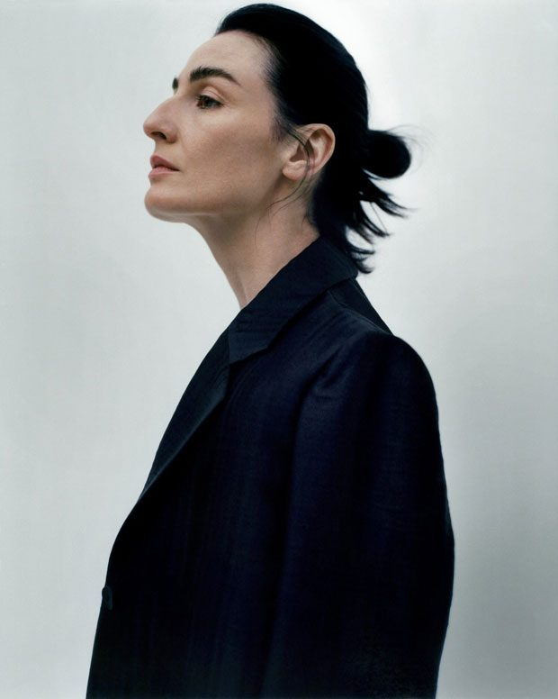 Don't Miss Supermodel Erin O'Connor Posing in THE ROW