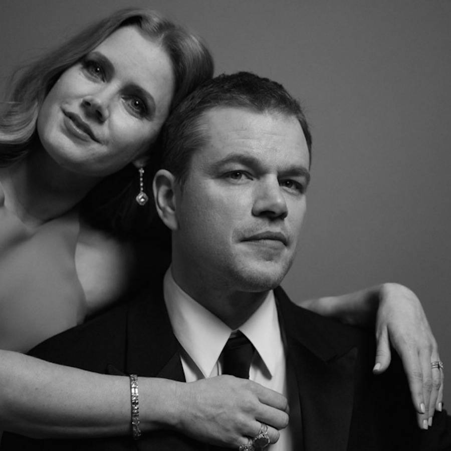 Matt Damon & Amy Adams.