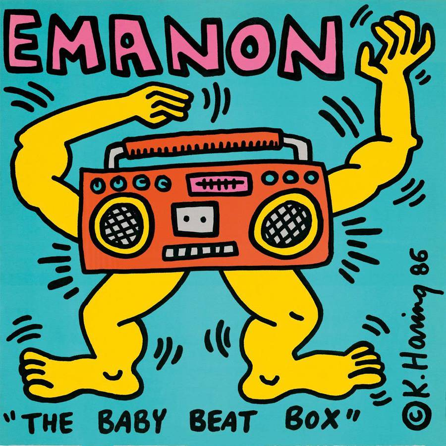 Keith Haring for Emanon.