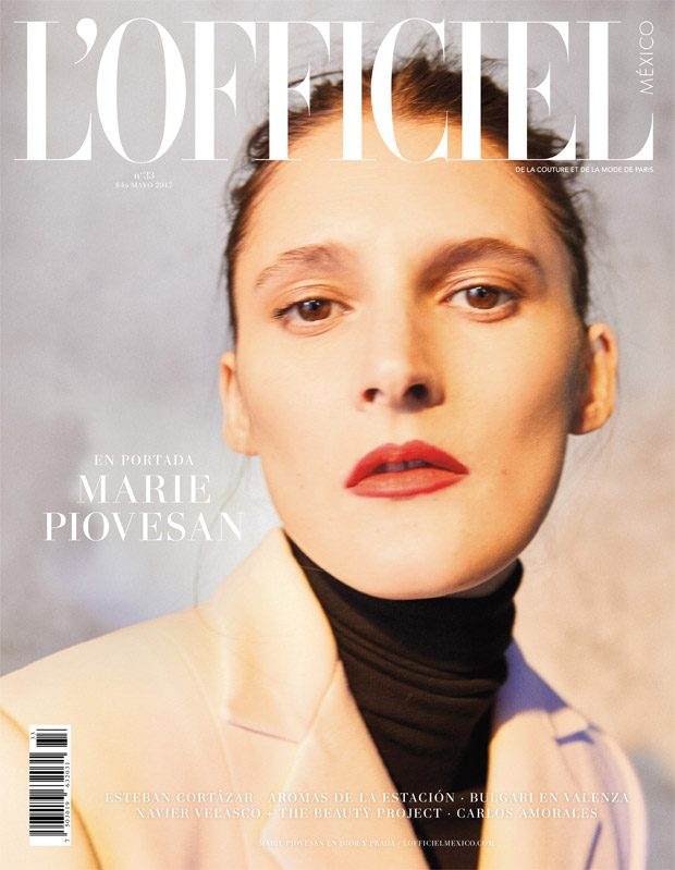 Marie Piovesan is the Cover Star of L'Officiel Mexico May 2017 Issue (4 pics)