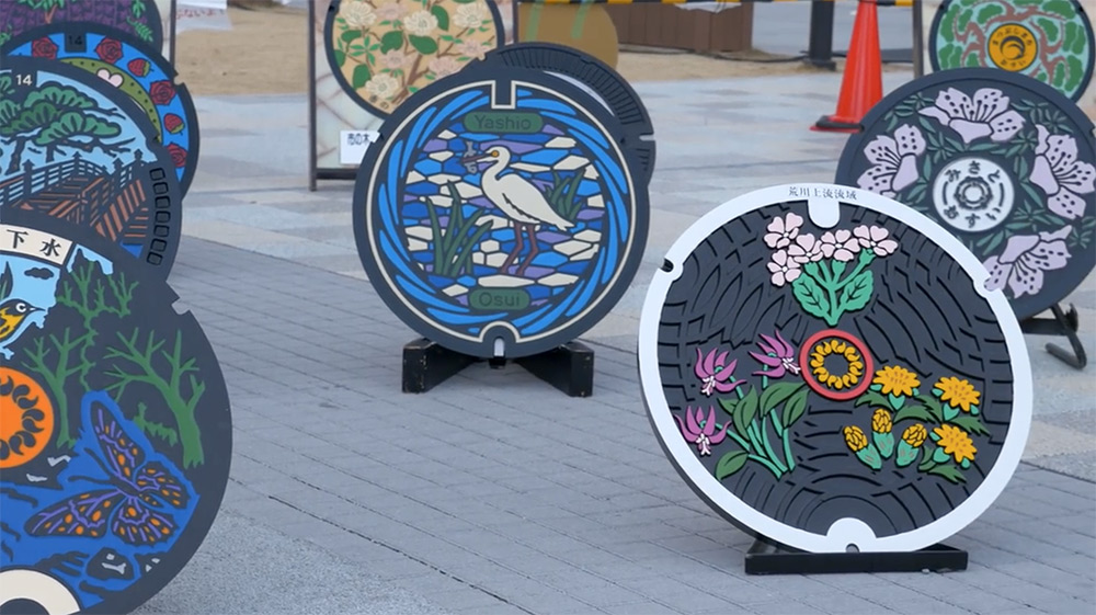 Take a Tour of a Japanese Manhole Factory Where Neighborhoods Create Their Own Designs (5 pics)