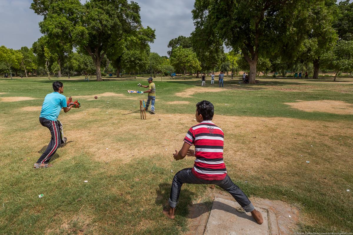 Короткая остановка в Индии. Любимая игра Индии