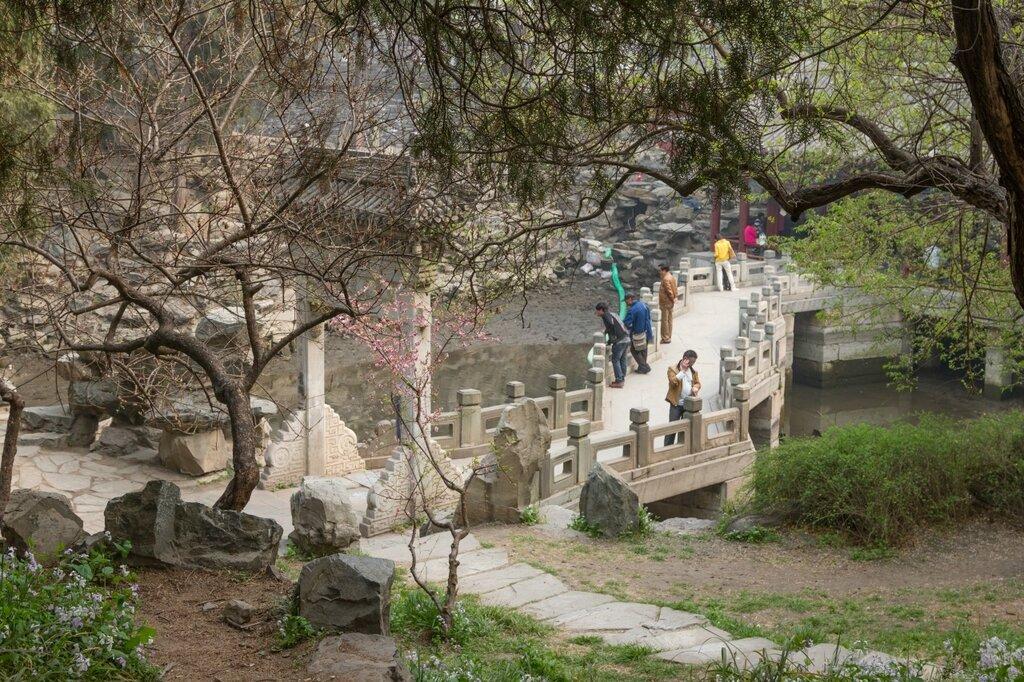Сад Хаопуцзянь, парк Бэйхай
