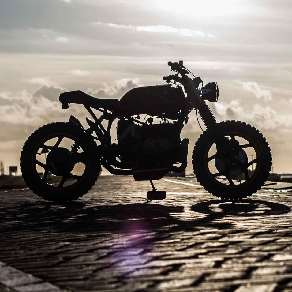 Ironwood Custom Motorcycles: кастом BMW R65 Riot Starter