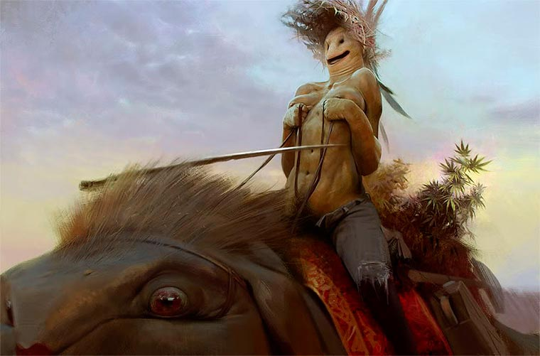 Broken Worlds - Les illustrations sombres et fascinantes de Sergey Kolesov