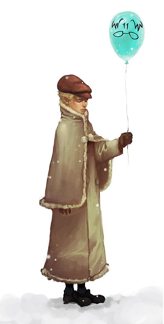 Inspiring Illustrations by Ailovc