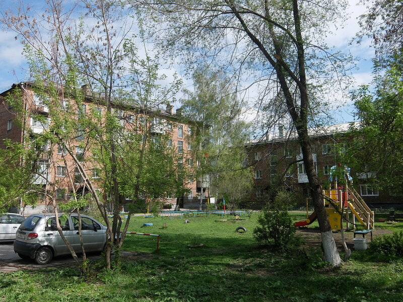 Новокузнецк - Проезд Буркацкого