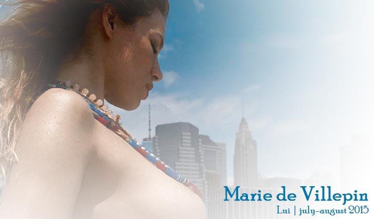 Мари де Вильпен / Marie de Villepin - Lui Magazine July-August 2015