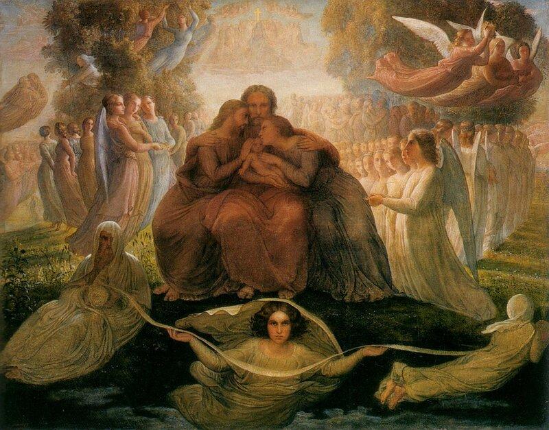 Луи Жанмо, Спаситель, холст, масло, 113х143 см.
