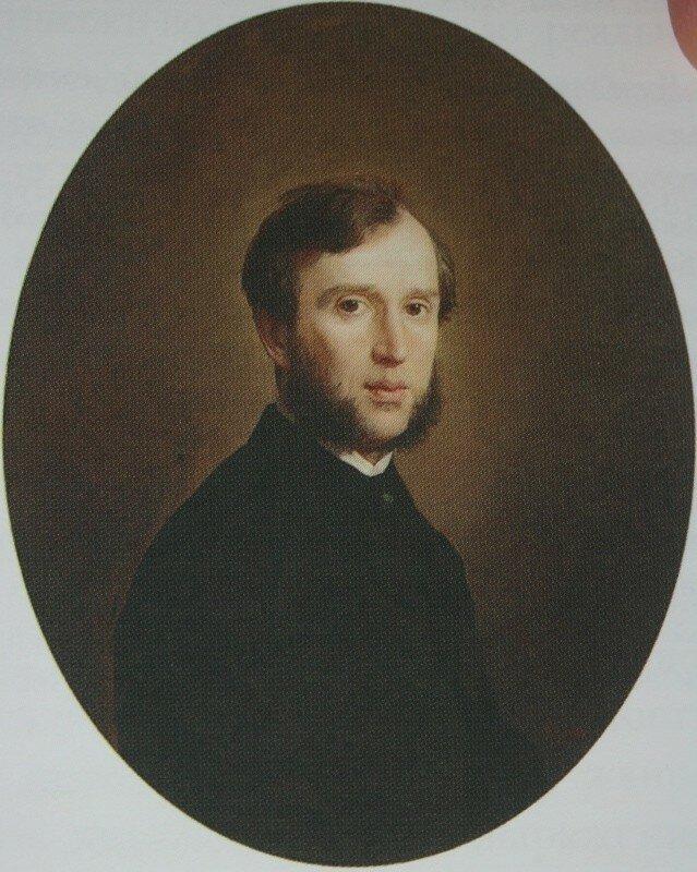 Мужской портрет    1861       Екатеринбургский музей изобразительных искусств.