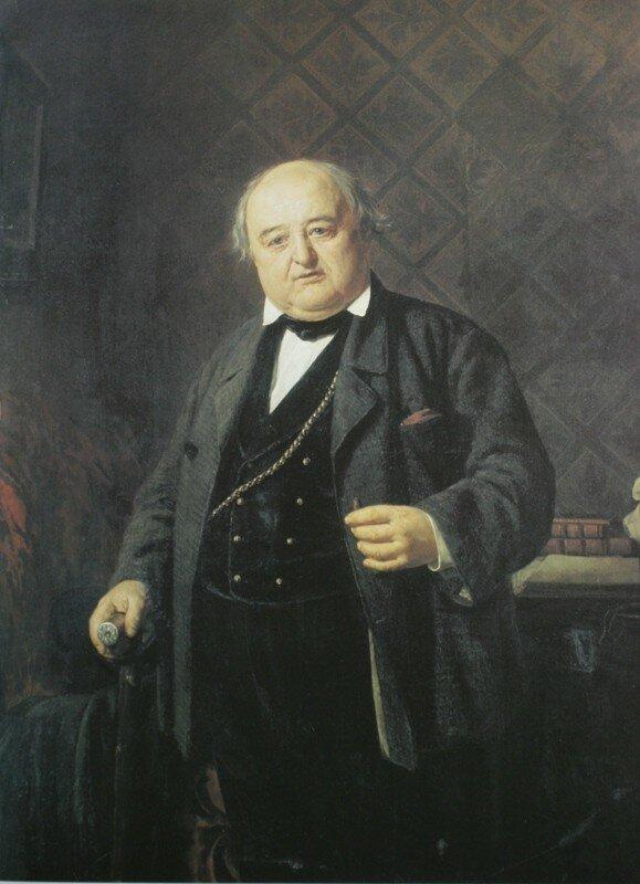 Портрет М.. Щепкина   1862 Музей Государственного Малого академического театра России, Москва.