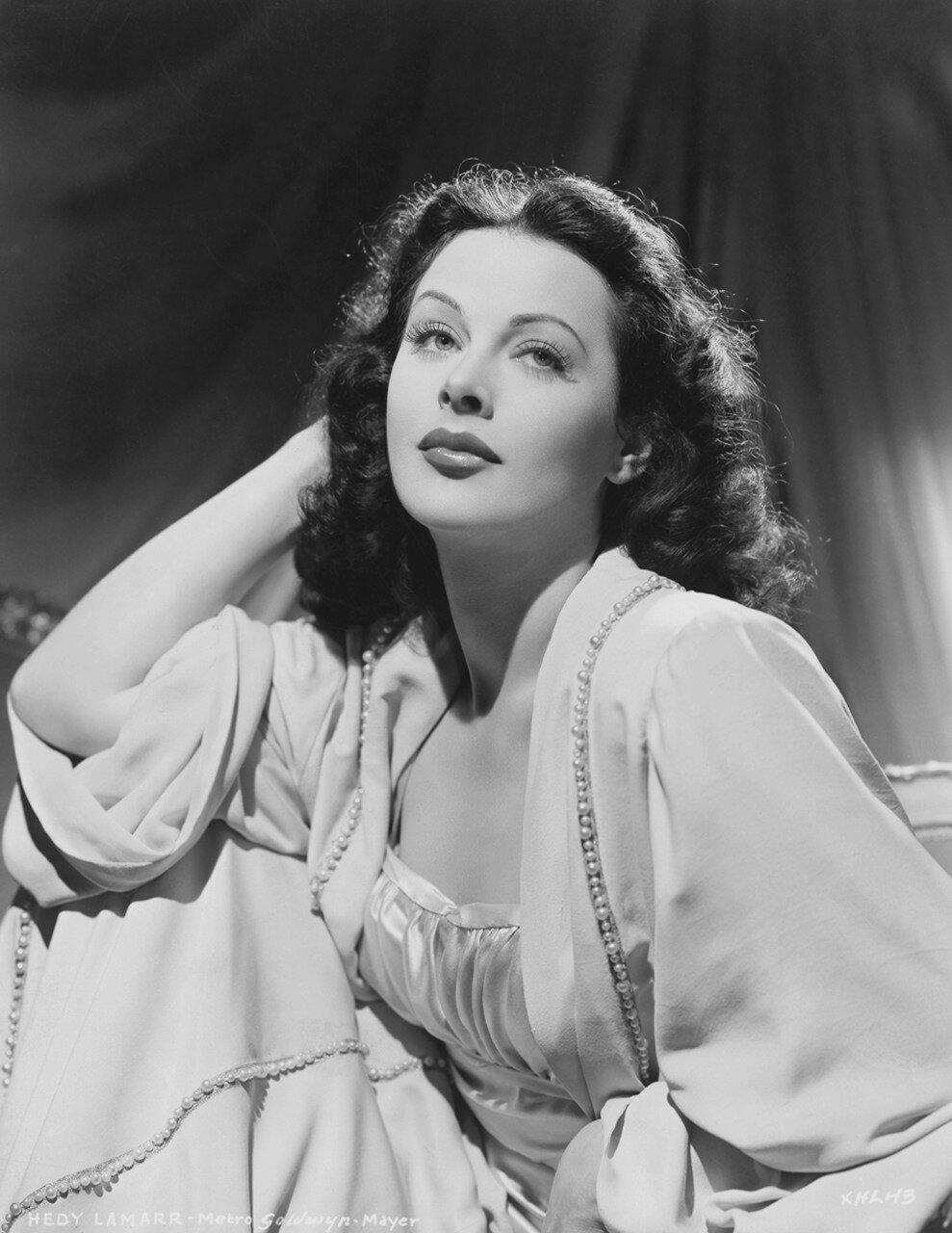 Portrait of Actress Hedy Lamarr