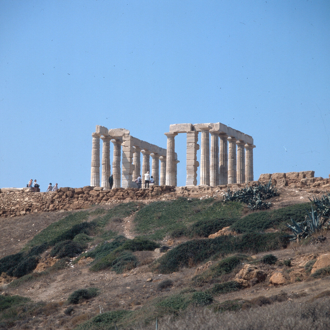 Храм Посейдона, середина V века до н.э.