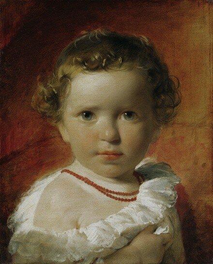 amerling_Prinzessin Karoline von Liechtenstein (1836-1885) im Alter von eineinhalb Jahren, 1837.jpg