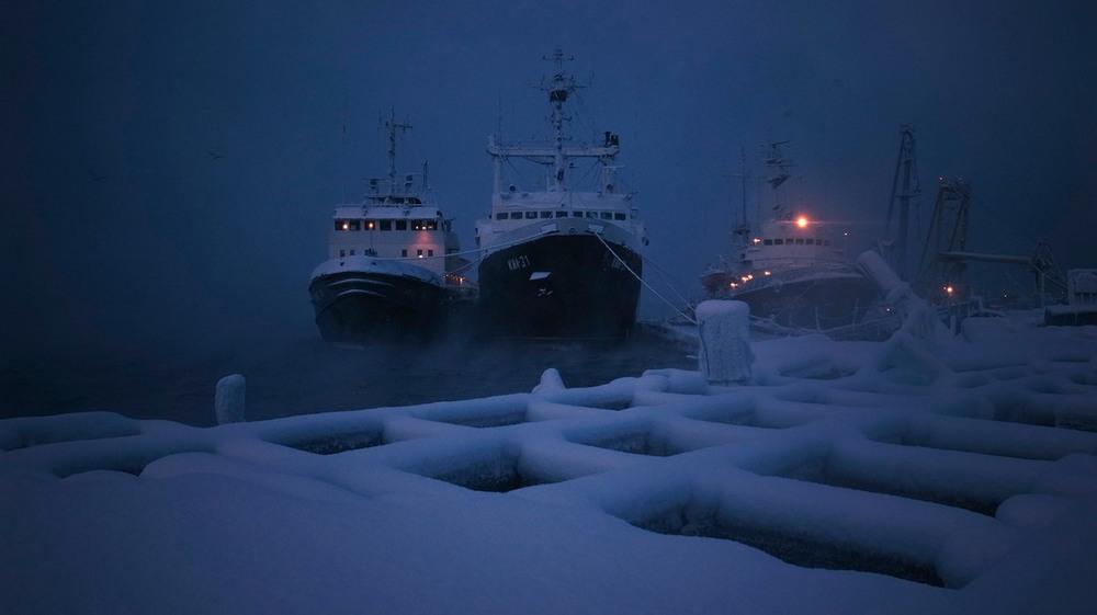 Зимний Мурманск на снимках Сергея Иуса