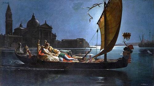 Jean Jules Antoine Lecomte du Nouy - Honeymoon in Venice
