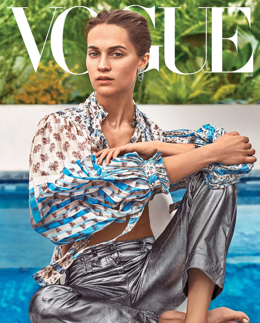 Alicia Vikander by Steven Klein for Vogue March 2018