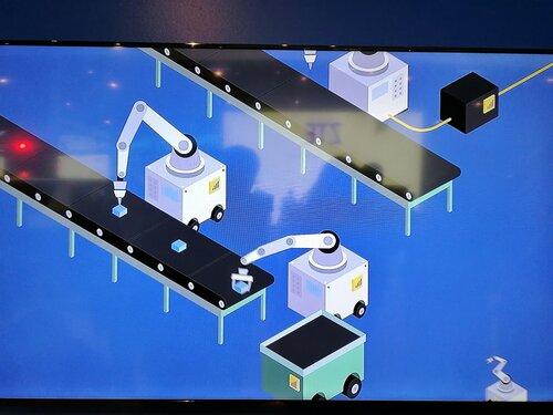 Производство на базе мобильных промышленных роботов, подключенных по 5G