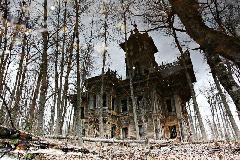 Заброшенный деревянный особняк XIX века после реконструкции (10 фото)