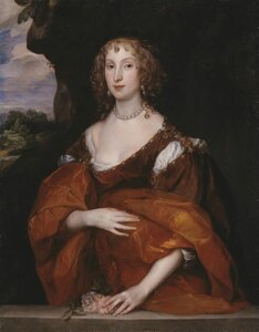 Portrait of Mary Hill, Lady Killigrew 1638 by Sir Anthony Van Dyck 1599-1641