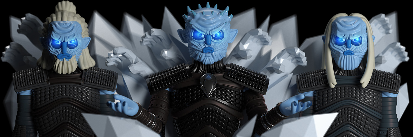 Funny 3D Game Of Thrones Characters