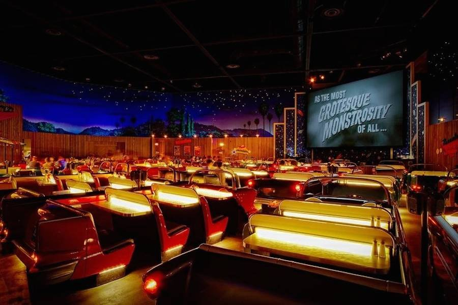 The Sci-Fi Dine-In Theatre Restaurant