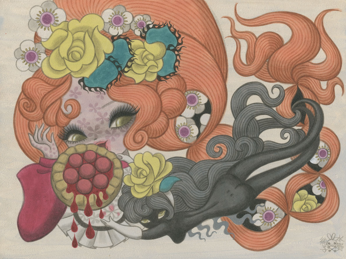 gallery Illustration japan junko mizuno manga NSFW