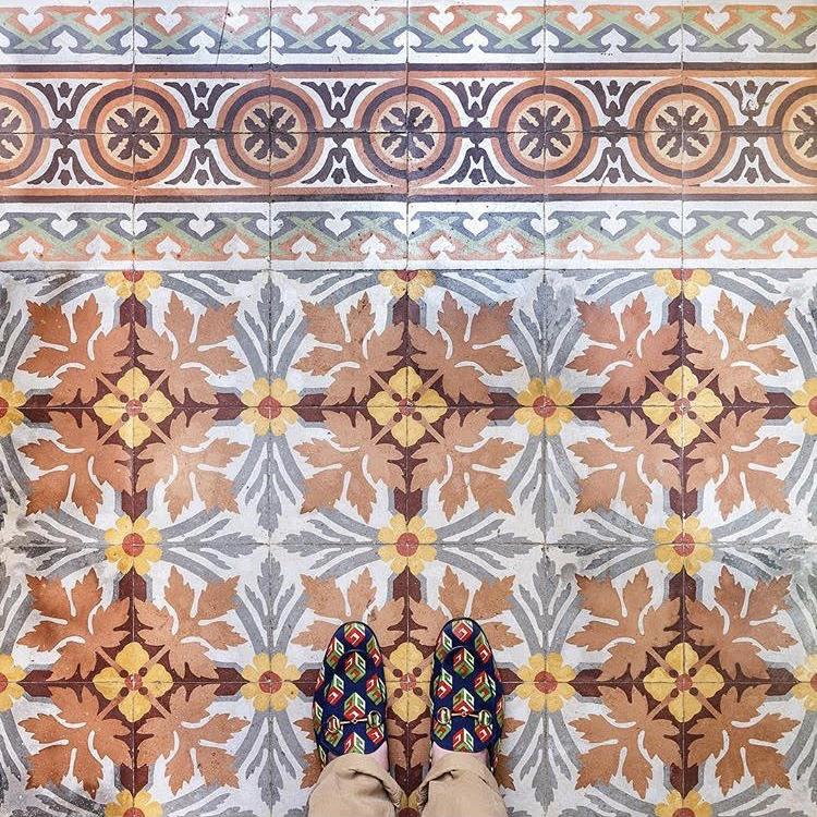 Colourful Cuban Floors Project