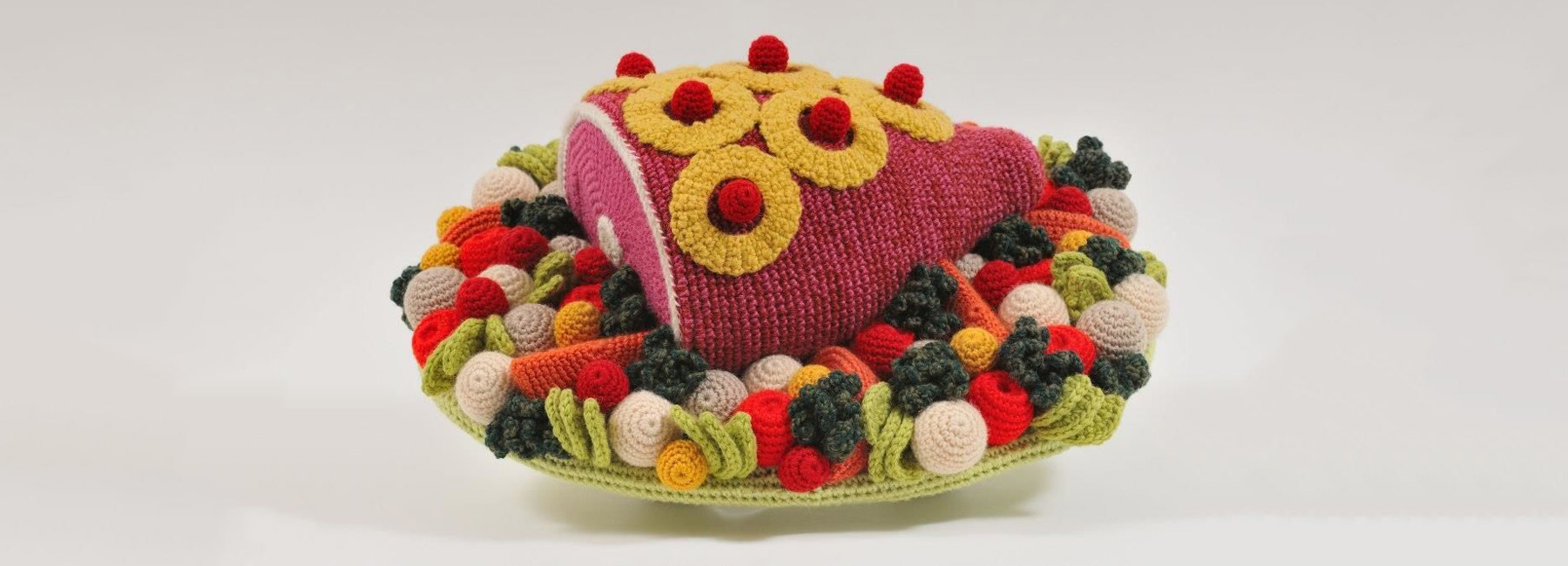 Amusing Crocheted Food Art