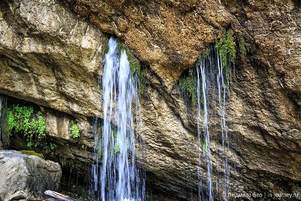 Гегский водопад в Рицинском парке