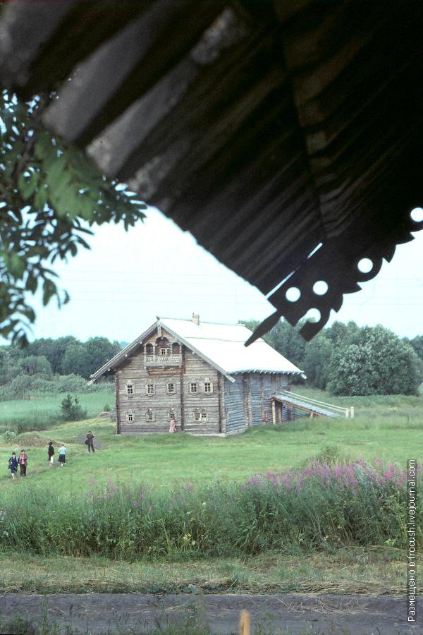 Остров Кижи. Дом Яковлева