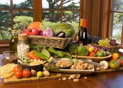 Средиземноморская диета и факт диабета снижен