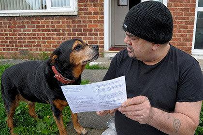На выборы в парламент пригласили собаку