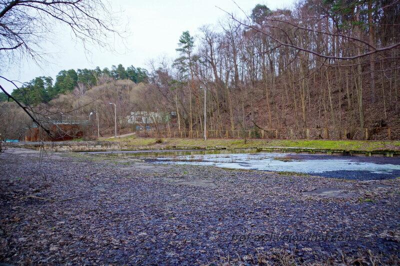 Очистные сооружения поселка и санатория Герцена