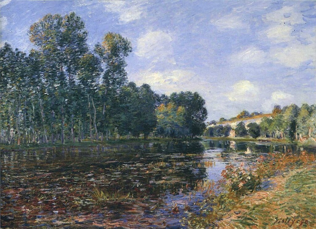 Bend in the River Loing in Summer, 1880.jpeg
