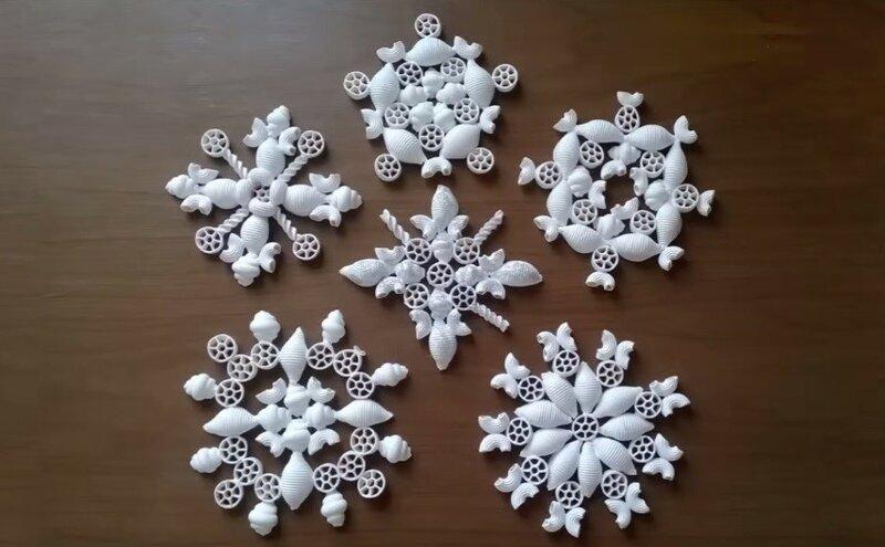 Снежинка оригинальная своими руками