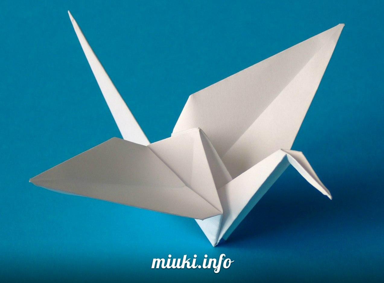 Традиционные японские искусства. Оригами