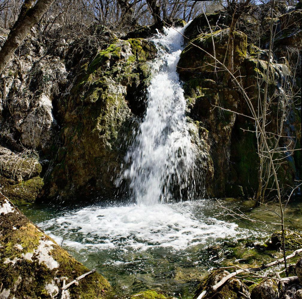 Узунджа и Сухой водопад.....