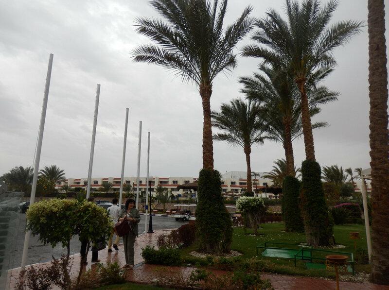 Дождь в Хургаде