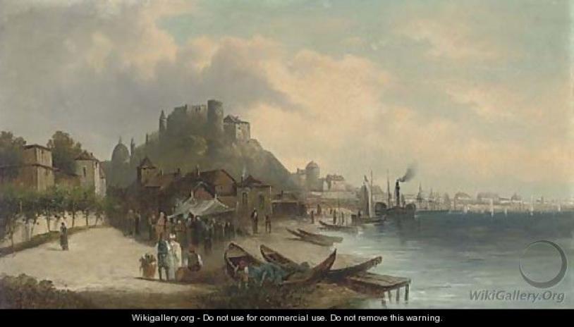 A market town on the Golden Horn