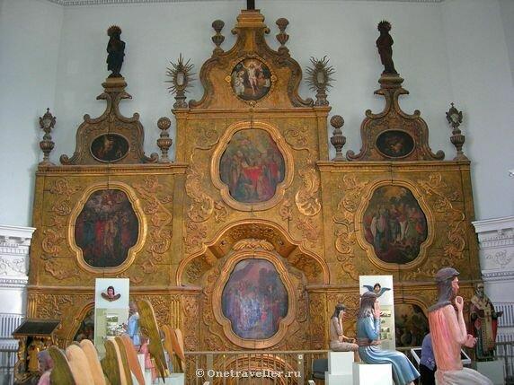 Пермь. Древний иконостас Спасо-Преображенского кафедрального собора