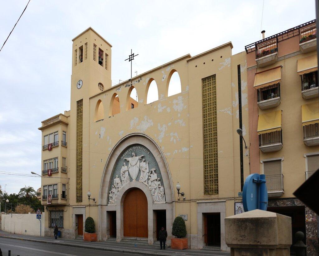 Аликанте. Церковь Милосердия (Parroquia de Nuestra Señora de la Misericordia)