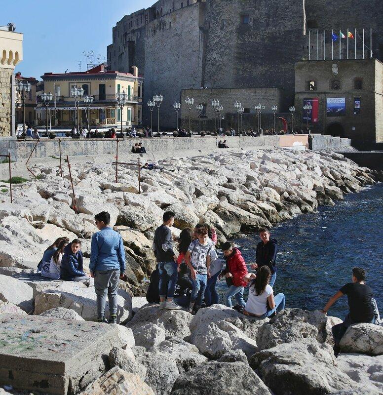 Naples, The Partenope Promenade