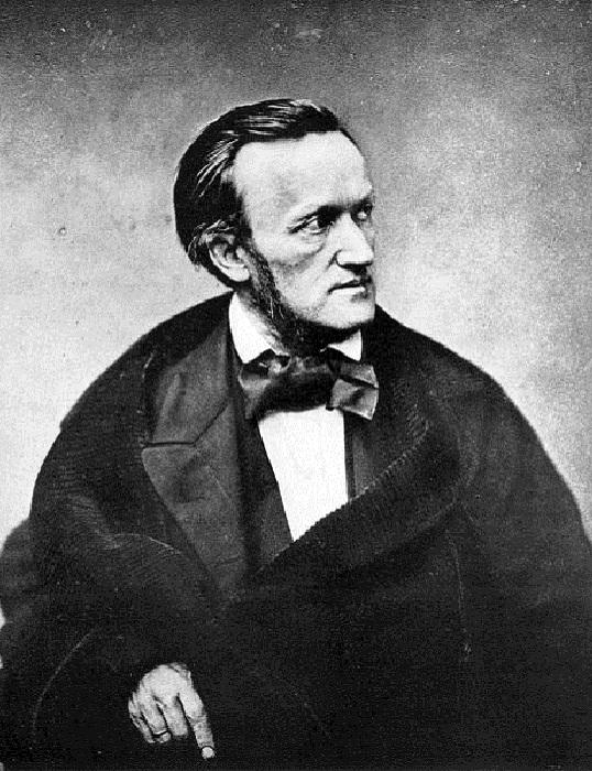Композитор Рихард Вагнер, 1861 год. Легенды, лежащие в основе опер Вагнера — сага о Парсифале и свят