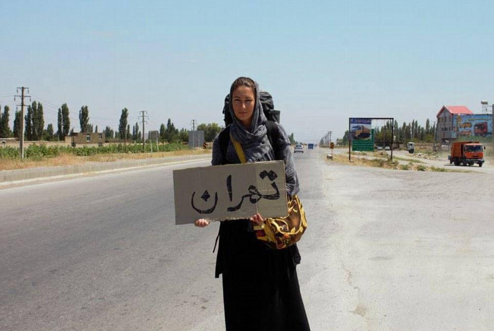 В Иране и других мусульманских странах у Анны было больше всего проблем со встреченными мужчинами. Н