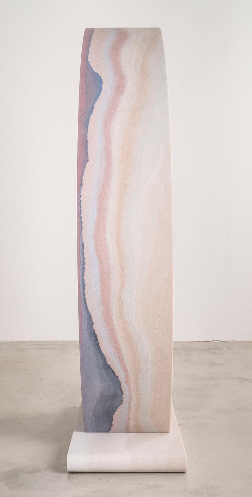 Коллекция мебели из песка и стекла Fernando Mastrangelo